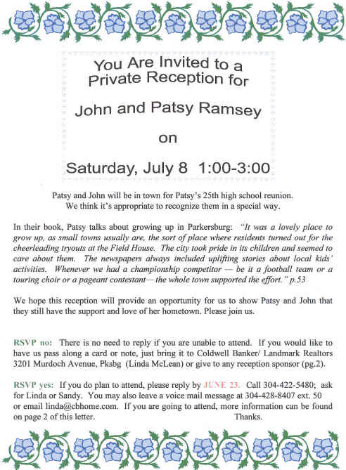 gallery for family reunion invitation letter