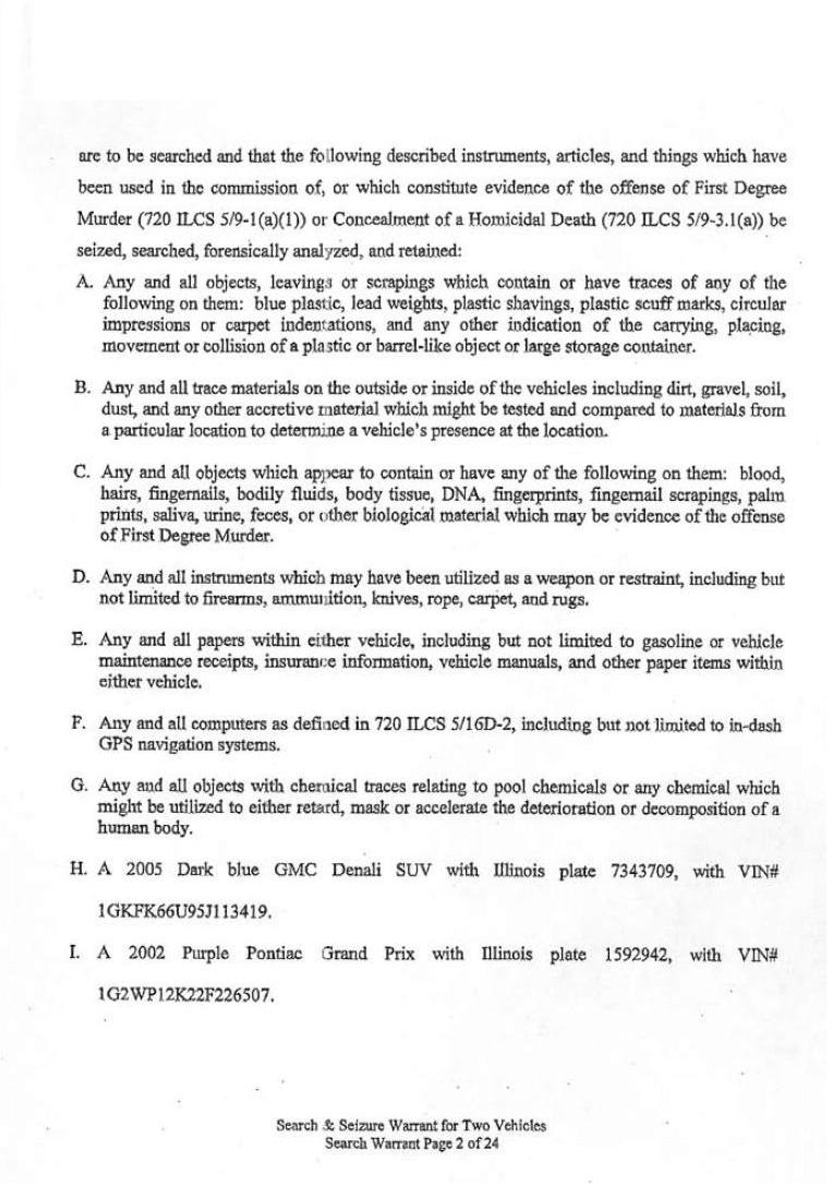 [12-04-2007 Search Warrant Page 2]