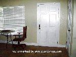 [Front door from hallway]