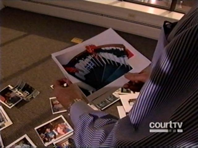 [Screen Capture from Court TV 'JonBenet Anatomy of a cold case 2006]