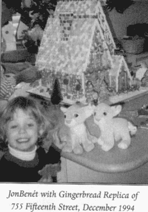 [Why_Nut's Newspaper Clipping of JonBenet with gingerbread house]