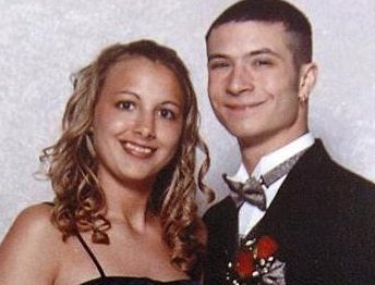 [Stacy Cales and Ralph Chira High School Prom Photo 2001]