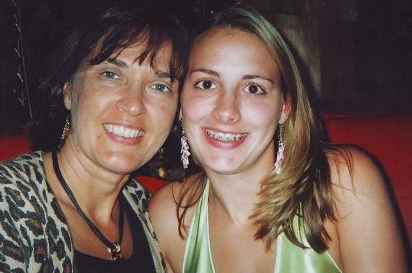 [Stacy Peterson and her Aunt Candace Aikin]