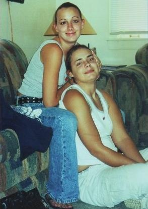 [Stacy Peterson and her sister Cassandra Cales]