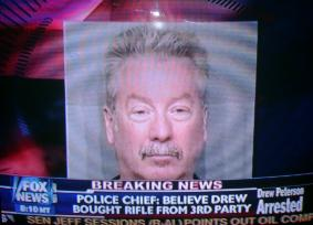 [Drew Peterson Mug Shot - Screen Captures by Internet poster known as 'HeDidIt']