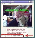[Drew Peterson on Web Cam with Ashley on April 10, 2008]