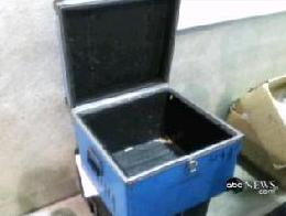 [Photos of Blue Container shown on ABC's GMA on December 13, 2007 http://abcnews.go.com]