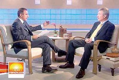 [Drew Peterson on the NBC Today Show]