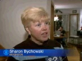 [Drew Peterson told Sharon Bychowski about the relative that tried to commit suicide]