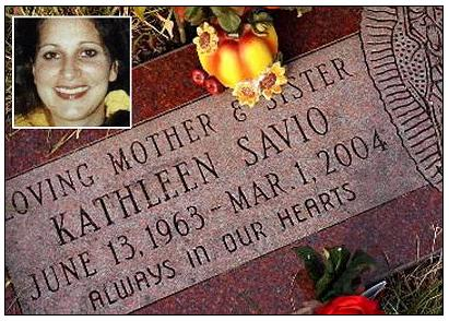 [Savio Family says farewell again to Kathleen]