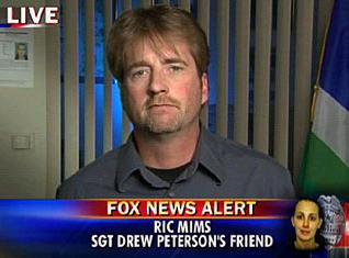 [Ric Mims on Greta's 'On The Record' says he's still sticking by Drew Peterson]