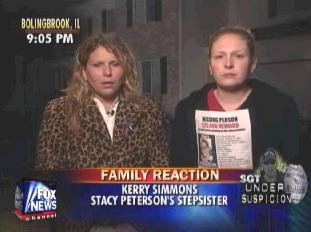 [Kerry Simmons and Debby Forgue, Stacy Peterson's step-sisters on Greta's 'On The Record']