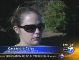 [Cassandra Cales, Stacy Peterson's sister]