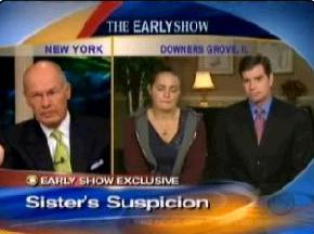 [Cassandra Cales and Mike Puccinelli of WBBM TV on CBS Early Show]