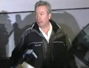 [Drew Peterson being questioned about his step-brother reporting that he helped carry a blue container out of the bedroom October 28, 2007 suspected to be Stacy's body]