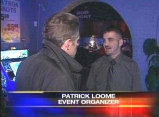 [12-28-2007 Stacy Peterson Fundraiser - On The Rockz, 1101 Independence Blvd, Romeoville, IL 60446 - Screen capture from http://www.myfoxchicago.com]
