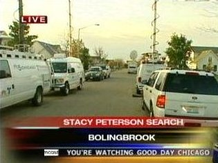 [11/05/2007 Media attention drawn to Missing Stacy Peterson case - Screen Capture from www.myfoxchicago.com]