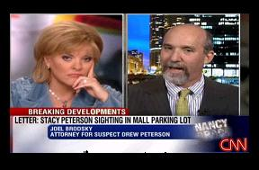 [Joel Brodsky on the Nancy Grace Show, January 9, 2008]