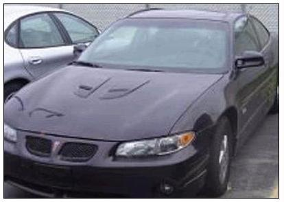[Stacy Peterson's 2002 Purple Pontiac Grand Prix - Photo found at http://www.suntimes.com]