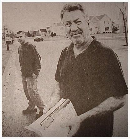 [Michael James Robinson, Close friend of Drew Peterson - Photo by photo by John Smierciak]