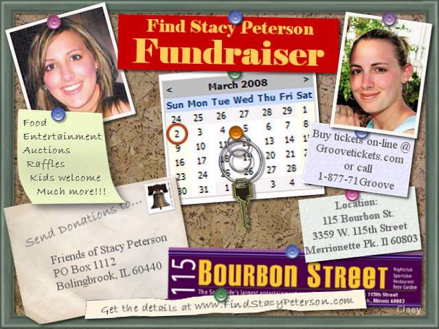 [The search for Stacy fundraiser will be held at 115 Bourbon Street in Merrionette Park and the doors open at 1 p.m]