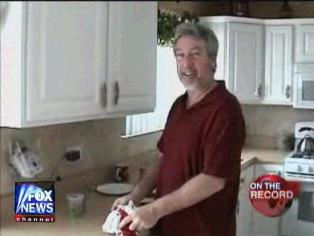 [Drew Peterson House Tour for Greta's On The Record - Part 2, March 3, 2008]