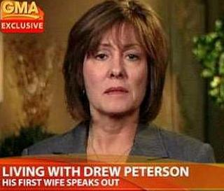 [Drew Peterson's first wife, Carol Brown talks about her marriage with Peterson on ABC's 'Good Morning America']