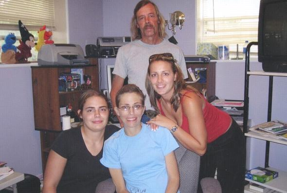 [Stacy and family]
