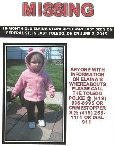 [Elaina Steinfurth Missing]