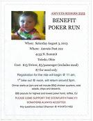 [Poker Run Announcement]