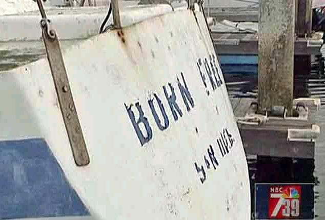 [Witnesses at the marina at Quivera Basin said police divers searched the waters around a boat on Saturday. Police have not identified the owner of the boat, which is called Born Free]